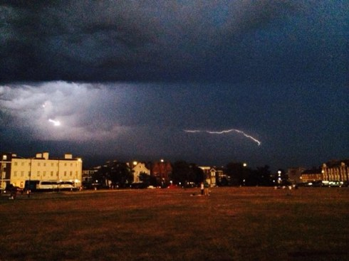 Blackheath in a thunderstorm