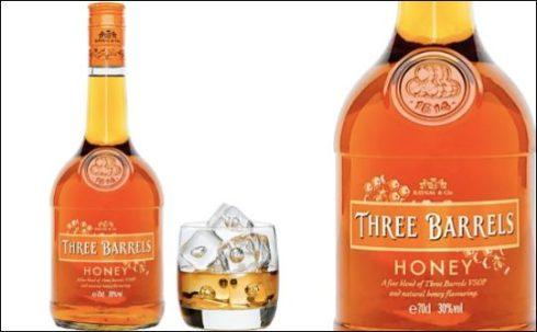Three Barrels Honey