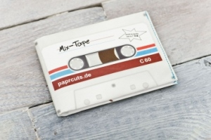 Mix tape wallet