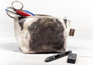 Pug make up bag