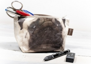 Pug make up bag