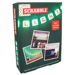 It even looks like a scrabble game in the box!